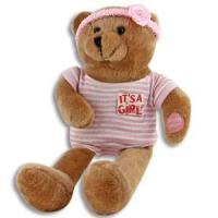 """Quality 11"""" Singing It's a Girl / Boy Bears for sale"""