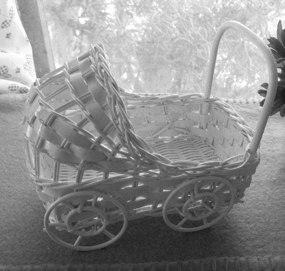 Buy Small Wicker Baby Buggy at wholesale prices