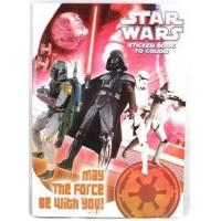 China Star Wars Imperial Cover Coloring Book w/Sticker Sheet, Boba Fett on sale