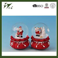 China Resin christmas gift snow globe, water globe,snow ball on sale
