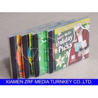 Quality Custom Cd Replication And Clear Plastic Disc Cases Packaging Printing Design for sale