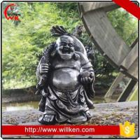 Buy cheap Animal Statues Garden outdoor decorative fiber standing happy buddha statue from wholesalers