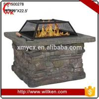 Buy cheap Animal Statues Fiberglass decorative square outdoor brazier from wholesalers