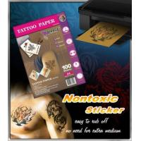 Inkjet Tattoo Sticker