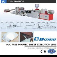 Quality PVC free foamed sheet production line for sale