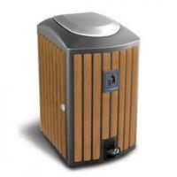 Quality Arlau BW09 outdoor public synt Name:Arlau BW09 outdoor public synthetic wood recycle bin for sale