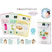 China SKIN THERAPY K-aesthetics Organic Essential Beauty Mask - 3 pk on sale