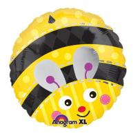 Buy cheap Cute Bumblebee Round Foil Balloon from wholesalers