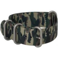 China Hadley-Roma Camo Military Nylon Watch Band 20mm MS4200 on sale