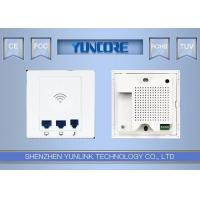 Multi Working Mode Wall Mount Access Point / Repeater / Gateway 2.4G 300Mbps Band