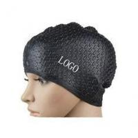 China Non - Toxic Comfortable Swim Cap Long Hair With Reduce Hydrodynamic Drag on sale