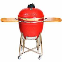 23.5 Inches Red Big Egg Ceramic Grills
