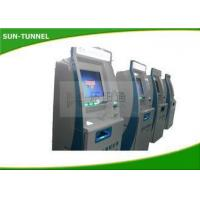 China Anti - Dust Steel Cabinet Self Sevice Kiosk With Printer Compact Structure on sale