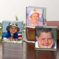 Quality Crystal Candelabra Personalized Picture Frames for sale