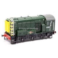China N GRAHAM FARISH BR GREEN CLASS 08 D3406 DIESEL SHUNTING LOCO BODY ONLY on sale