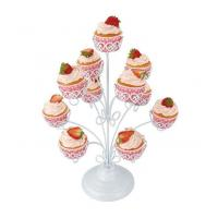 Buy cheap 11 Cupcakes Decorated Cupcake Stand With Powder Coating from wholesalers