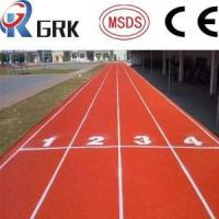 Quality ISO Ventilate Rubber Running Track Material All Weather Track Surface Playground Surfacing for sale