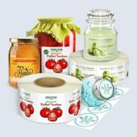 Buy cheap Create Your Own Self Adhesive Color Print Stickers For Jar from wholesalers