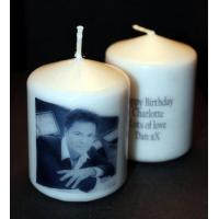 Quality Birthday Candles Donny Osmond Candle Gift with own message for sale