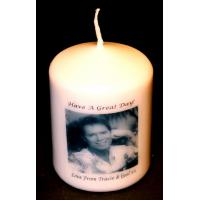 Quality Birthday Candles Cliff Richard Gift candle own message for sale