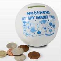 Quality Baptism Gifts My 1st Money Box Boy for sale