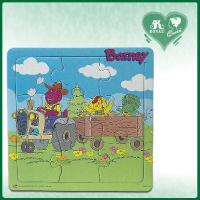 Quality 9 pieces high quality colorful fashion custom jigsaw paper puzzles (PZ-09) for sale
