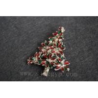 Quality Christmas tree brooch for sale