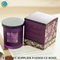 Quality Flamless luxury soy scented candles glass jars for sale