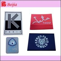 Quality new design silicone label for garment for sale