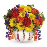 Quality Birthday Teleflora's Brilliant Birthday Blooms.No.6 delivery birthday to for sale