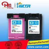 China Compatible circuit cartridge for hp 675 ink cartridge chip reset on sale