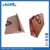 China 2015 china express Luxury cheap recycle brown paper bags INV-563 on sale