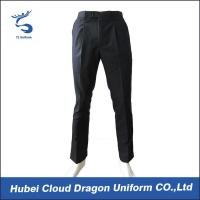 Quality OEM Black Security Guard Pants Police Uniform Pants With Soft Waistband for sale