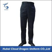 Quality Lightweight Slim Fit Security Guard Pants & Police Black Combat Trousers For Men for sale