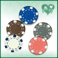 China 11.5 Gram Dices Style Poker Chips (PC-28) on sale