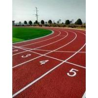 Quality Polyurethane rubber running track Athletic track material Synthetic sport flooring surface for sale