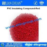 Quality PVC Insulating Compound-Red(ROHS) for sale