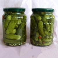 China Canned Cucumber Canned Pickled Gherkin on sale