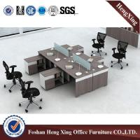 China L shaped Office computer desk With side table cabinet office