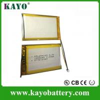 Buy cheap Safety High Quality Rechargeable 3.7V Lithium Polymer Battery For Toys (1900mAh) from wholesalers