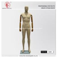 Quality high-tech paper-stick mannequin with wooden hand for sale