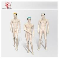 Quality Handsome male mannequin group with full makeup for sale