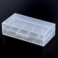 Quality Practical Transparent Electronic Cigarette Battery Storage Box for 18650 18350 18500 Battery for sale