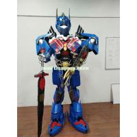 Buy cheap Halloween Costumes and Decorations Transformers Optimus Prime Armor Robot costume for Party from wholesalers