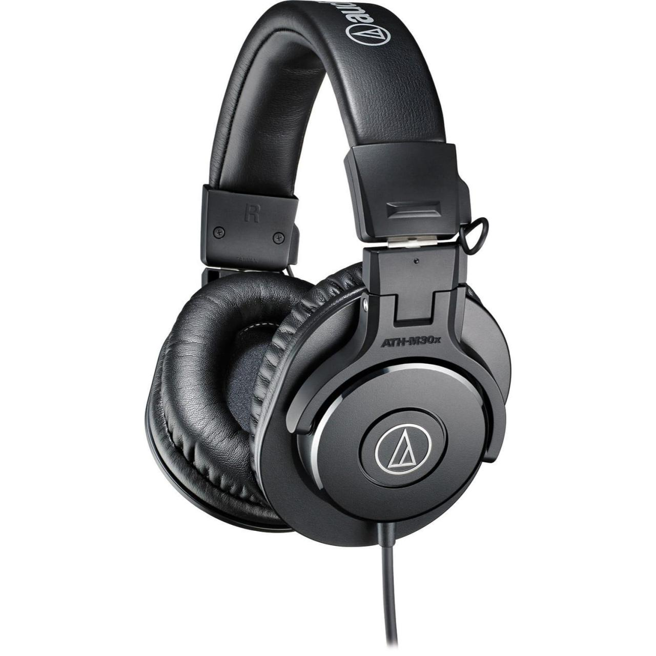 Quality Recording Audio-Technica ATH-M30x Professional Monitor Headphones for sale