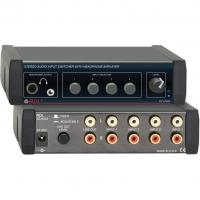 Quality Radio Design Labs EZ-HSX4X Stereo Audio Input Switcher with Headphone Amp (Worldwide Power Supply) for sale