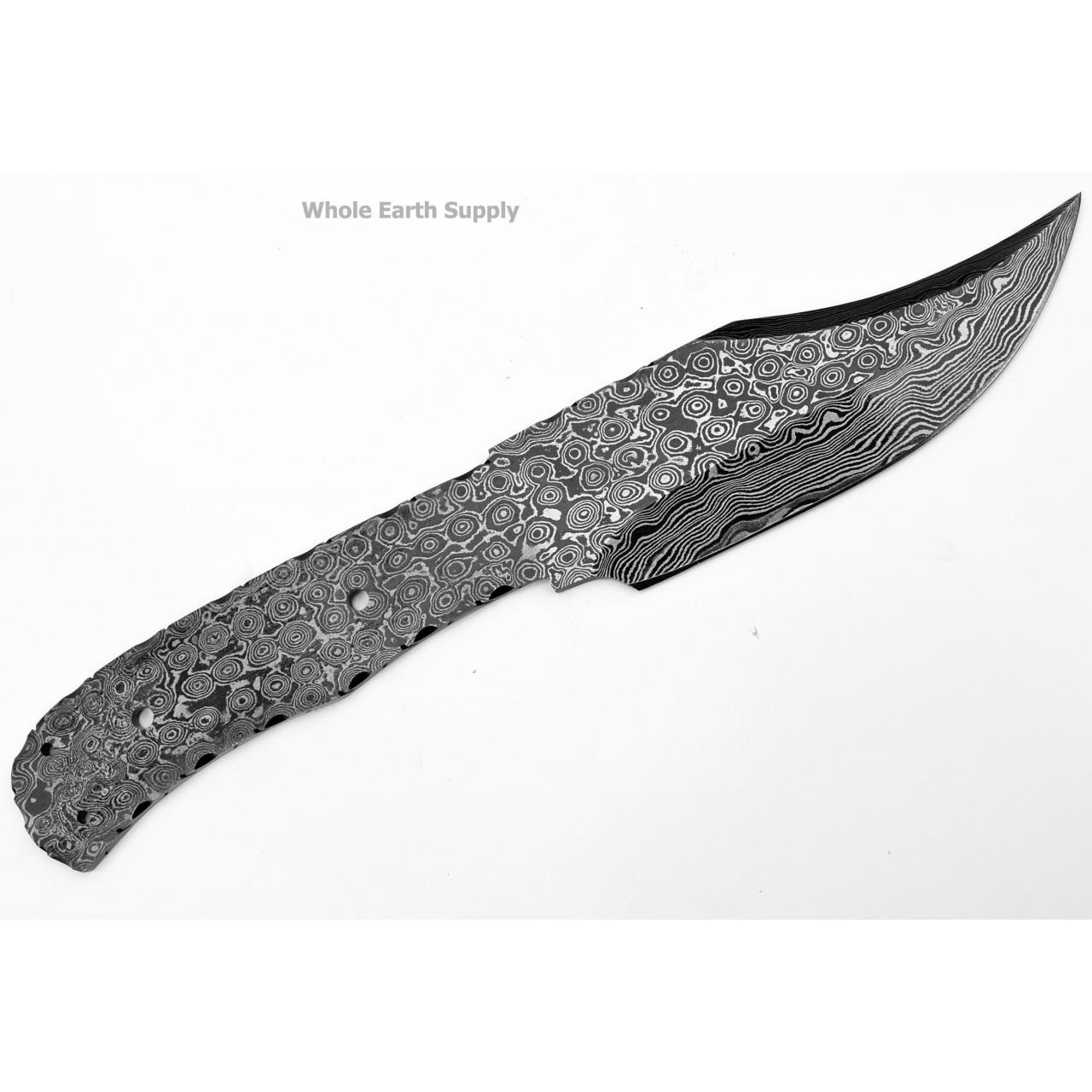 Quality Damascus Hunting Blanks Model: H-BLANK-41 for sale