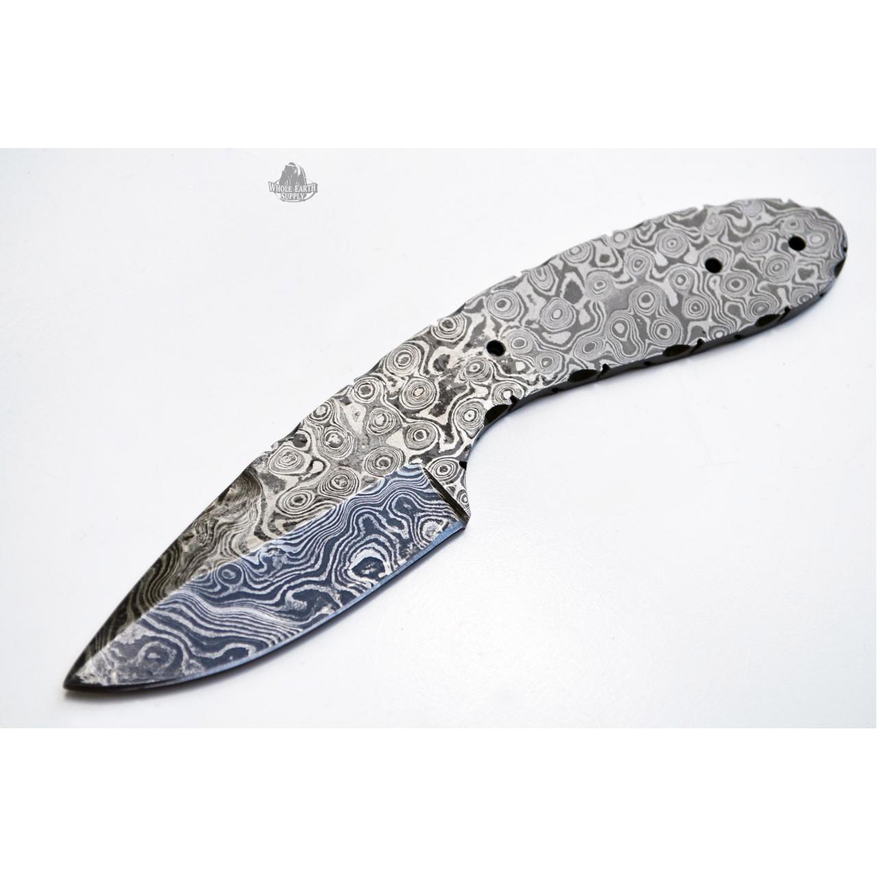 Quality Damascus Hunting Blanks Model: H-BLANK-60 for sale