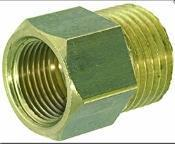 China Brass Fitting 3/8M-3/8F for Commercial Espresso Machines on sale