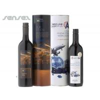 Quality Promotional Custom Printed Wine & Cylinder Gift Sets for sale